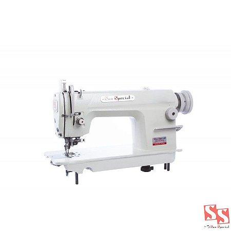 Máquina de Costura Industrial Ponto Fixo Reta Refiladeira SS-8520