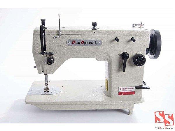 Máquina De Costura Industrial Zig Zag 3 Pontinhos Semi-Industrial SS457A-123T