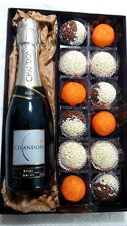 Caixa de presente Chandon