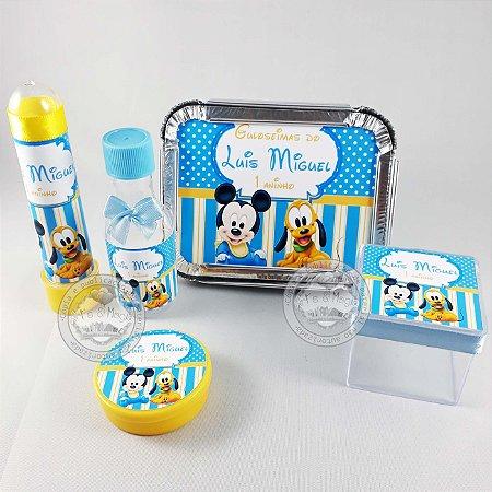Kit Festa Infantil Personalizado Mickey Baby