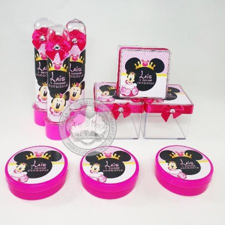 Kit Festa Infantil Personalizado Minnie Princesa