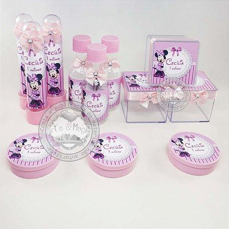 Lembrancinhas Personalizadas Minnie Rosa