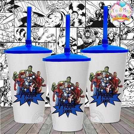 Copo twister Personalizado Vingadores