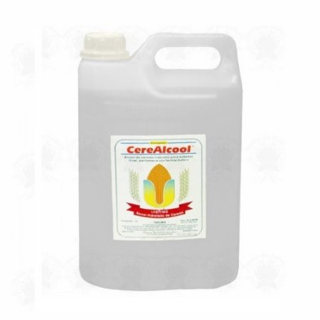 Álcool de Cereais 96°  5 Litros