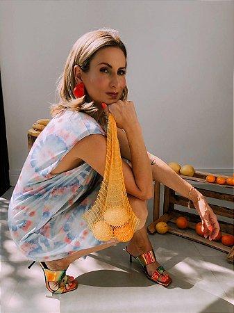 Vestido Salada de Frutas Curto