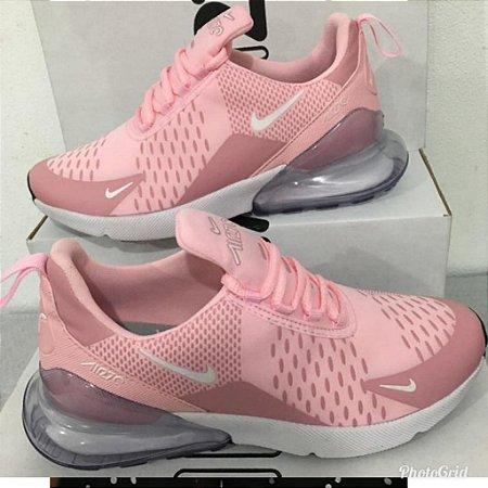Nike 270 Lançamento Rosa Feminino