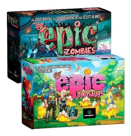 Combo Tiny Epic Dinosaurs + Tiny Epic Zombies
