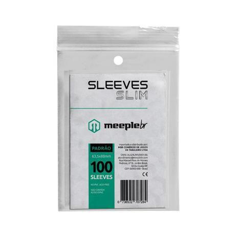 Sleeve Slim MeepleBr - Padrão