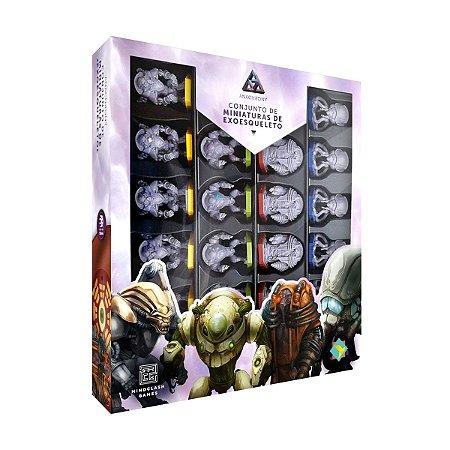 Anachrony: Conjunto de Miniaturas de Exoesqueleto (PRÉ-VENDA)