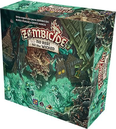 ZOMBICIDE GREEN HORDE: NO REST FOR THE WICKED