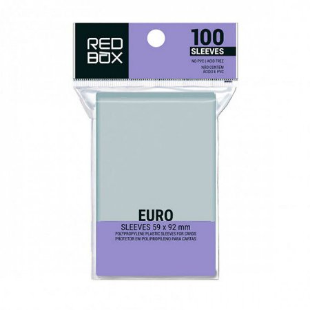 SLEEVE REDBOX EURO (59X92MM)