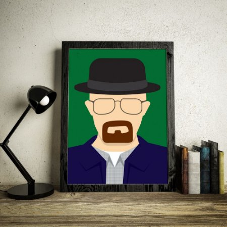 Walter White - Breaking Bad - Minimalista