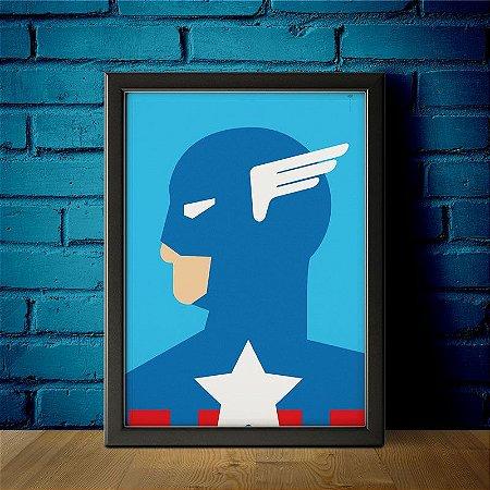 Capitão América - Minimalista