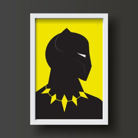 Pantera Negra - Minimalista