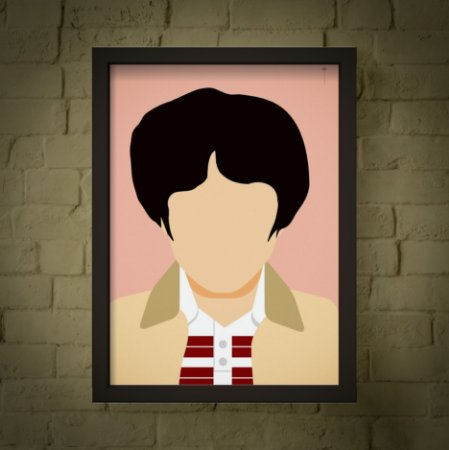 Mike - Stranger Things - Minimalista