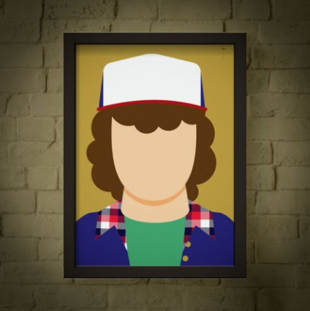 Dustin - Stranger Things - Minimalista