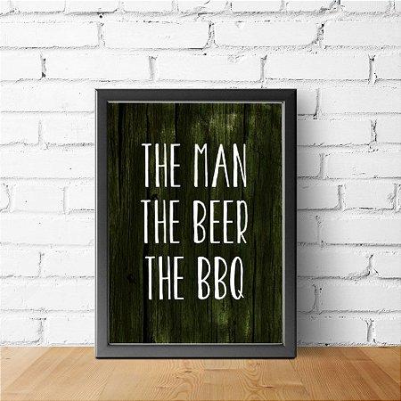 Man, Beer, BBQ