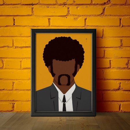 Jules Winnfield - Pulp Fiction - Minimalista