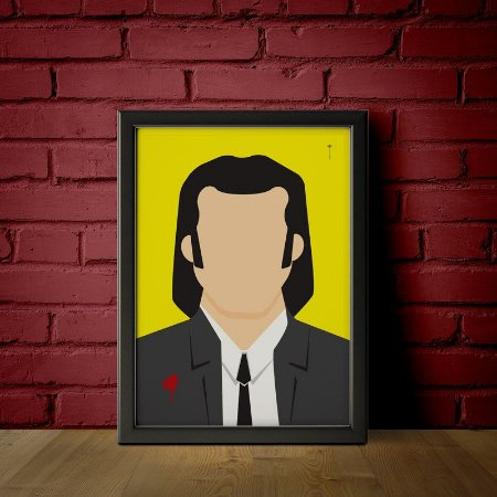 Vicent Vega - Pulp Fiction - Minimalista