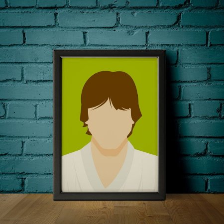 Luke Skywalker - Star Wars - Minimalistas