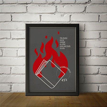 Livros - Fahrenheit 451