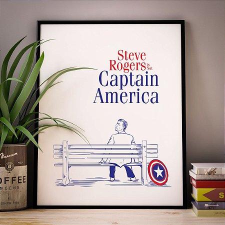 Steve Forrest - Capitão América