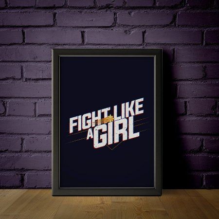 Fight Like a Girl - Capitã Marvel