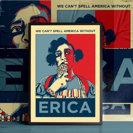 Can't Spell America Without Erica - Stranger Things
