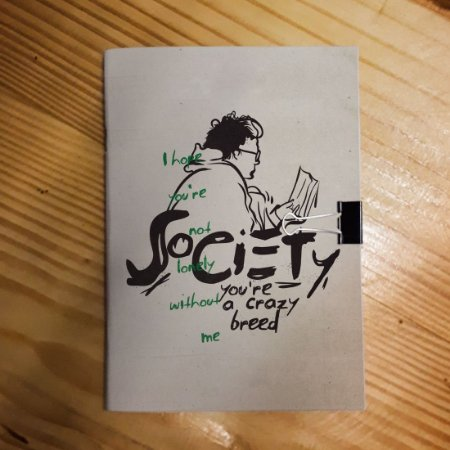 Caderno - Into the Wild (Society)