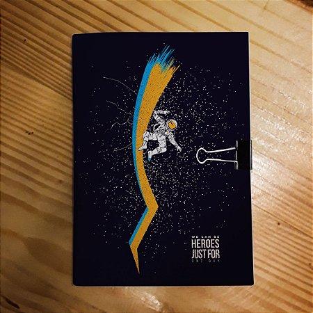 Caderno - David Bowie (Heroes - Escuro)