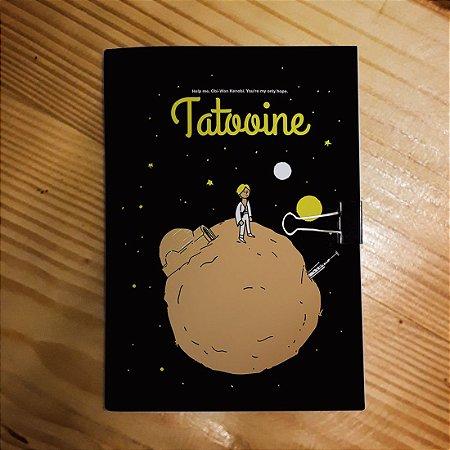 Caderno - O Pequeno Príncipe em Tattoine