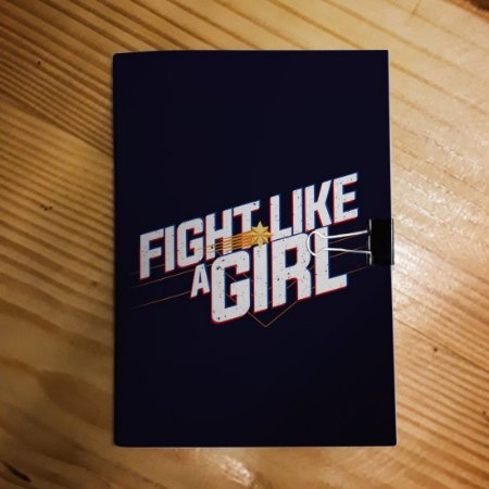 Caderno - Capitã Marvel (Fight Like a Girl)