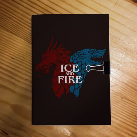 Caderno - Game of Thrones (Ice and Fire)