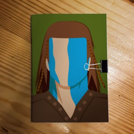 Caderno - William Wallace (Minimalista)