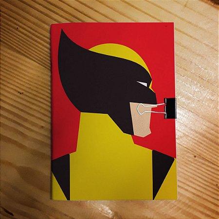 Caderno - Wolverine (Minimalista)