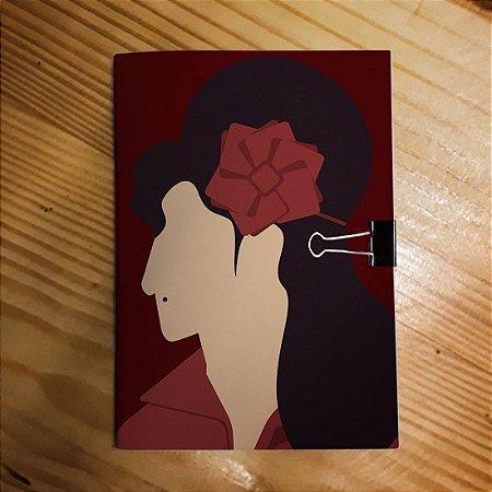Caderno - Amy Winehouse (Minimalista)
