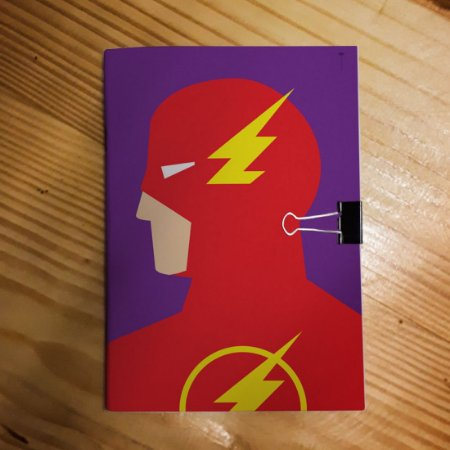 Caderno - Flash (Minimalista)