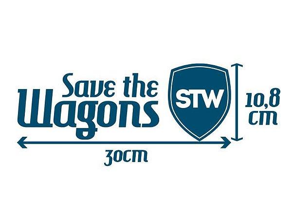 Adesivo SaveTheWagons Oficial - GRANDE - 30cm
