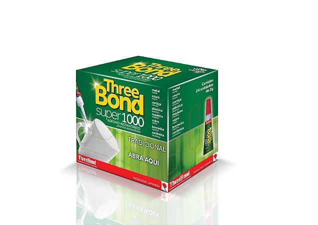 Cola Super 1000 Three Bond Caixa c/24pç