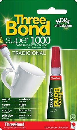 Cola Instantânea Super 1000 Three Bond