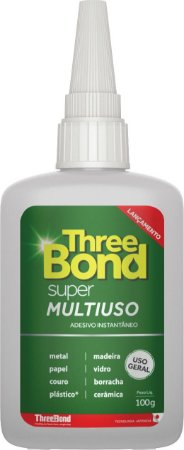 Cola Instantânea Super Multi Uso Three Bond - 100 grs