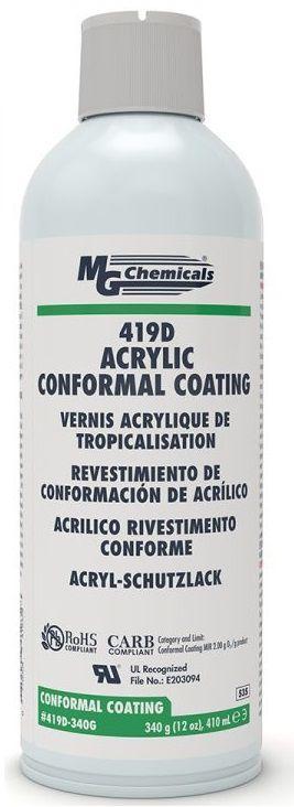 Protetivo Conformal Coating Acrílico 419-C - Spray 410ml