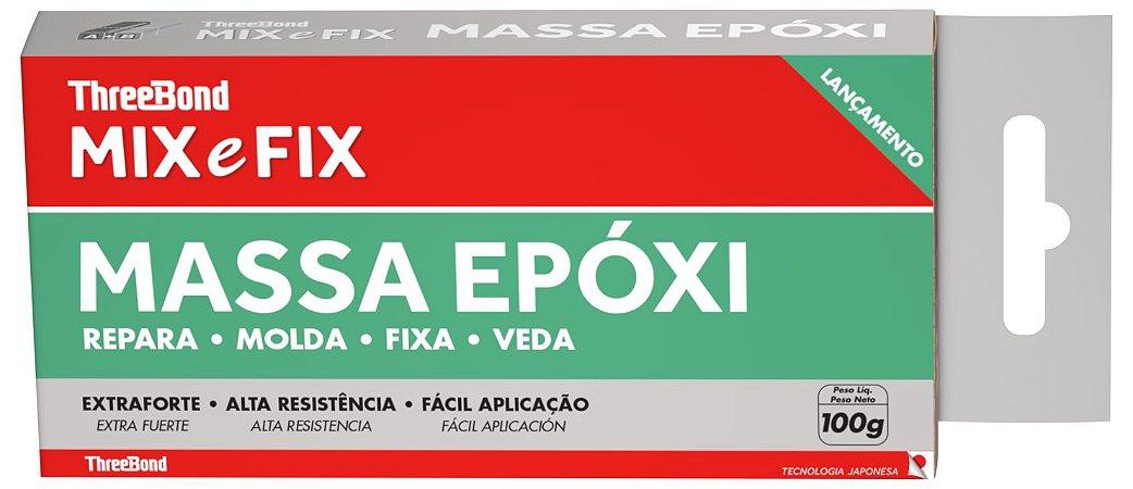 Massa Epóxi MIX e FIX - 100grs