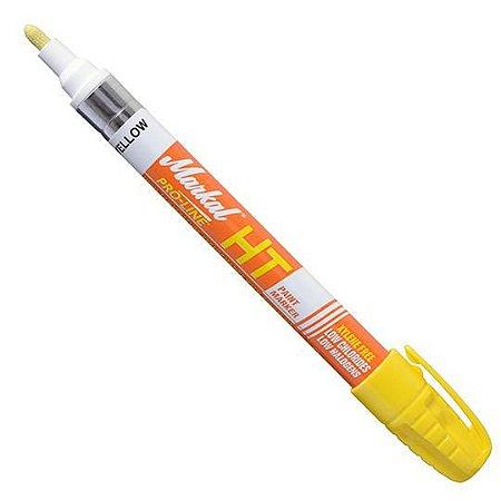 Caneta Marcadora Industrial P/ Alta Temperatura Cor Amarelo 1.148°C