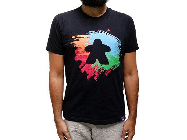 Camiseta Pintando Meeple