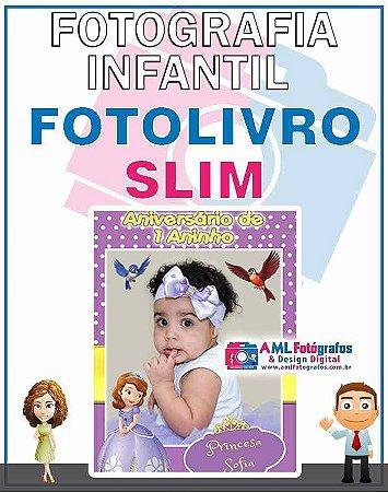 Fotografia de Aniversário Infantil - Fotolivro Slim