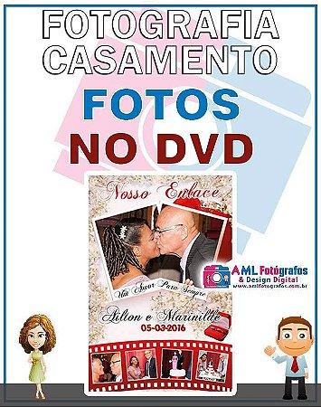 Fotografia de Casamento - Fotos em DVD