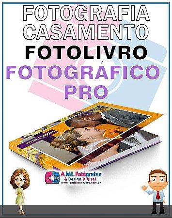 Fotografia de Casamento - Fotolivro Fotográfico 180 Pro Panorâmico