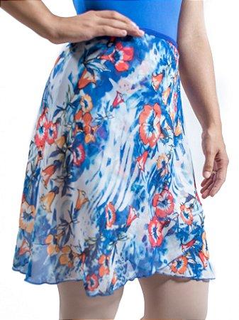 Saia Amarílis - Azul Royal