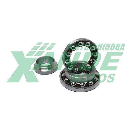 ROLAMENTO KIT DIRECAO CBX 250/ CB 300-500/ CBR 450-1000/ HORNET C/ESFERAS SMART